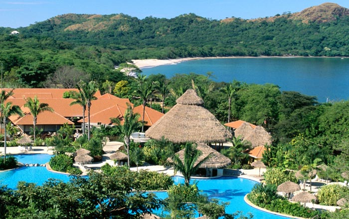 Beach hotel in Costa Rica
